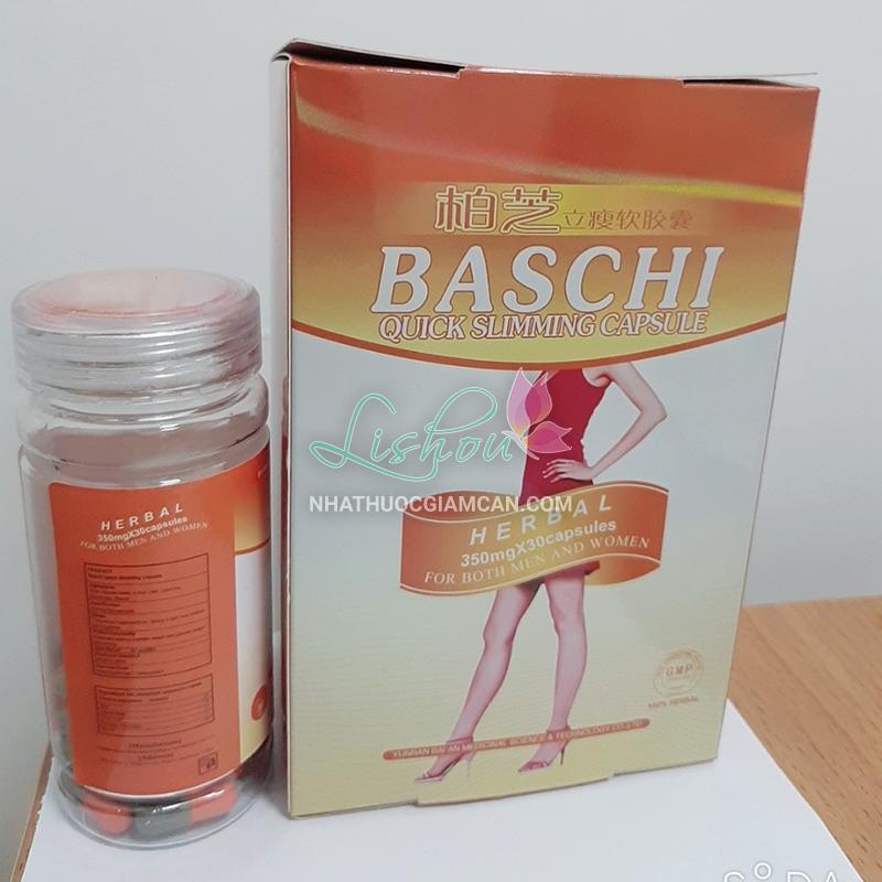 Cách sử dụng thuốc giảm cân Baschi cam hiệu quả 2